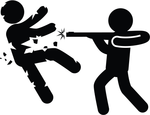 shoot to kill protect the protest action clip art actor clip art
